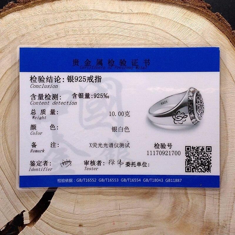 """""""ZABRA"""" senoviniai 925 sidabriniai žiedai, skirti moterims - Mados papuošalai - Nuotrauka 6"""