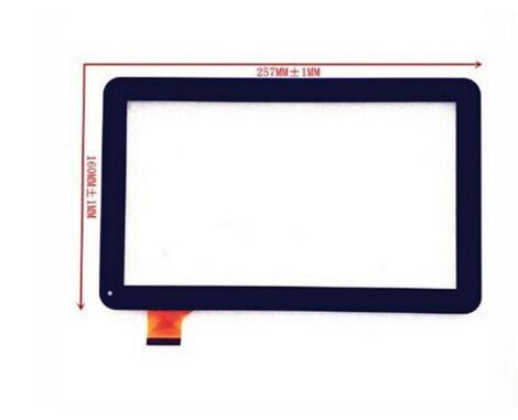 Free shiping New touch screen For 10.1inch Prestigio MultiPad Wize 3021 3011 3031 3G Tablet Touch panel Digitizer Glass Sensor