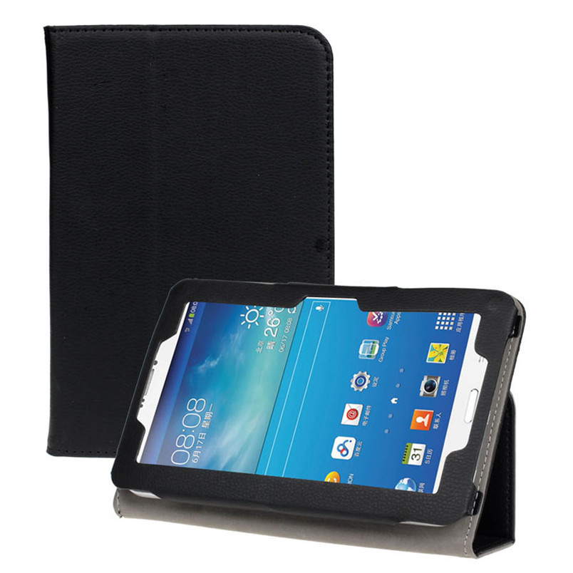 Reliable 7 inch Universal Leather Stand Case Cover For Android Tablet PC universal 7 7 9 8 inch android windows ios tablet pc detachable bluetooth keyboard with touchpad pu leather case cover stand pen