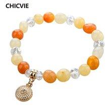 Chicvie tiger eye браслеты дружбы и браслет для женщин love