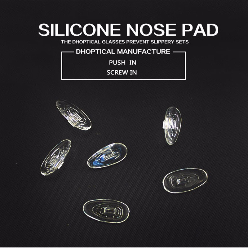 free shipping silicone nose pad ,eyeglasses part glasses accessories 500pcs wholesale