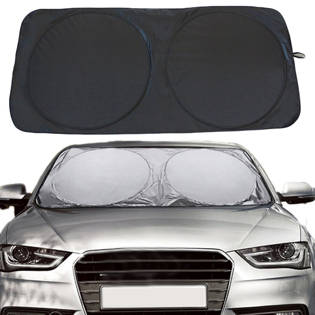 150 X 70cm Car Sunshade Sun Shade Windshield Front Rear Window Film Visor Cover UV Protection Reflector Car-styling Protector