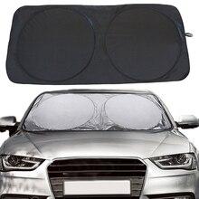 150x70 см автомобильный солнцезащитный козырек, солнцезащитный козырек для лобового стекла, переднее и заднее стекло, защита от УФ-излучения, отражатель, защита для автомобиля