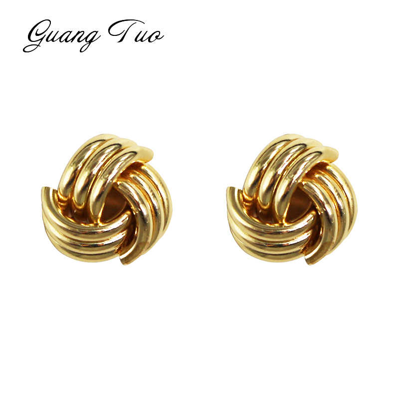 ES2205 European Trendy Metal Stud Earrings Exaggerated Simple Irregular Earring For Women Fashion Jewelry For Gift Accessories