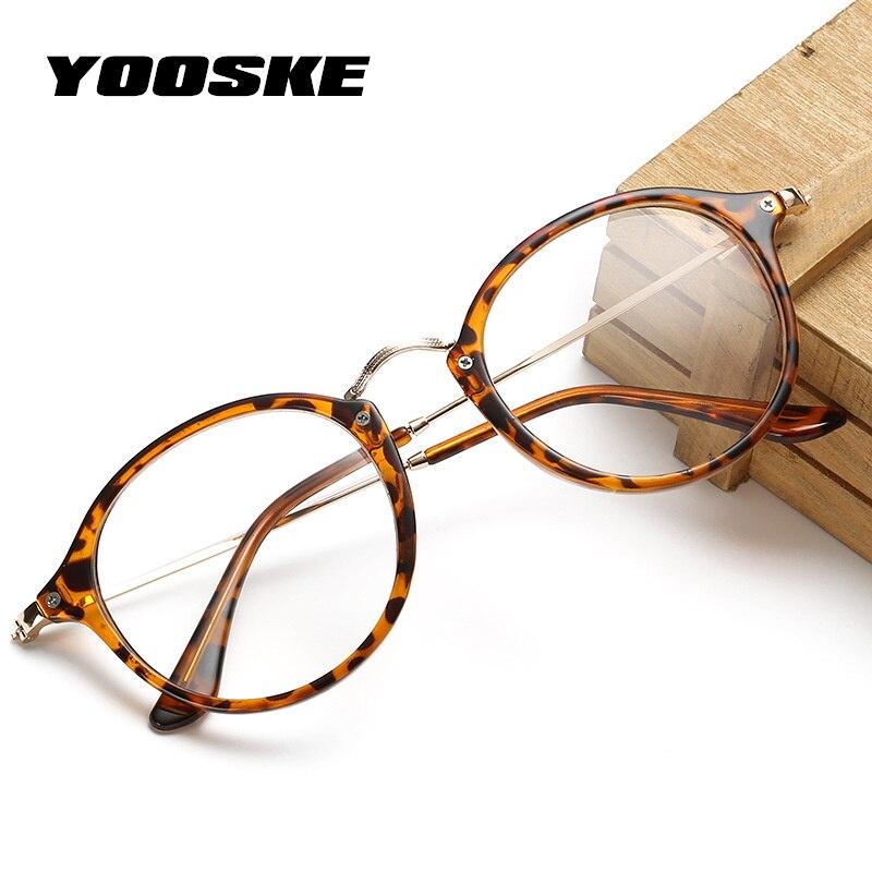 GüNstiger Verkauf Yooske Mode Optische Gläser Rahmen Frauen Kurzsichtige Rezept Brillen Rahmen Transparent Klar Objektiv Brillen Waren Des TäGlichen Bedarfs Brillenrahmen Bekleidung Zubehör