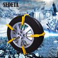 1Pcs Universal Auto Snow Tire Chain Car Vehicle Wheel Antiskid Easy Installation Useful Safety Tools