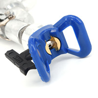 Airless Paint Spray Gun High Pressure 3600 PSI Swivel Joint with 517 spray tip