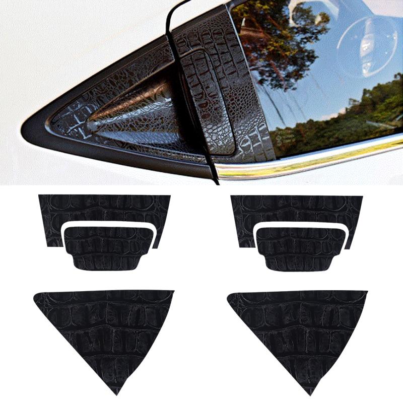 Car Sticker Car accessories Carbon Fiber Door Handle Cup Bowl Protective Cover Stickers Trim Fit for Honda Xrv Vezel