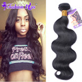 Brazilian Virgin Hair 4 Bundles Annabelle Hair Brazilian Body Wave 8A Grade Unprocessed Human Hair Brazilian Hair Weave Bundles