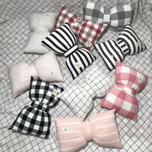 2018 New Lovely Bow Tie Pillow Dolls Comfort Tie Pillow Home Decor for car hold pillow cushion pillow for bedroom