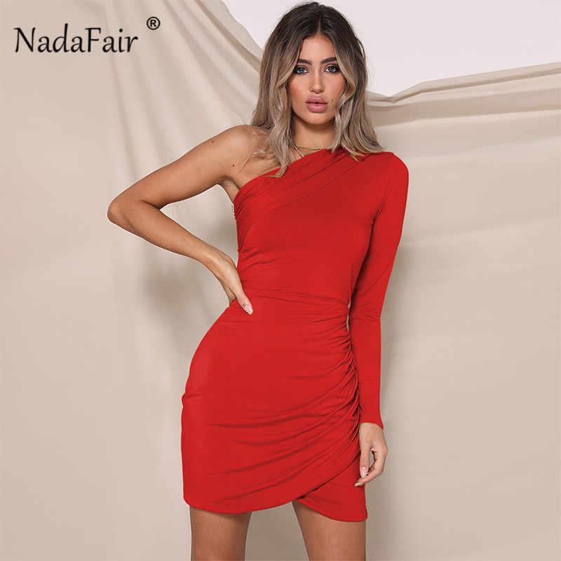 477ebe5f76b Detail Feedback Questions about Nadafair fashion one shoulder ...