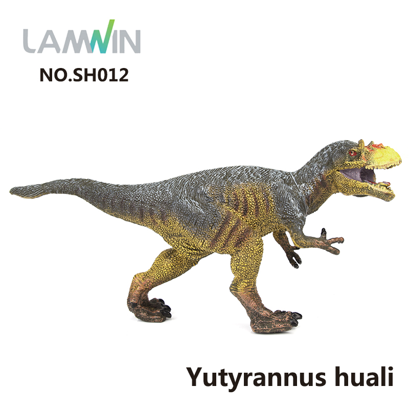 Lamwin Good Quality Small Plastic Dinosaur Toys PVC Animal World Carnotaurus Model Action Figure Gift игрушка good dinosaur 62006