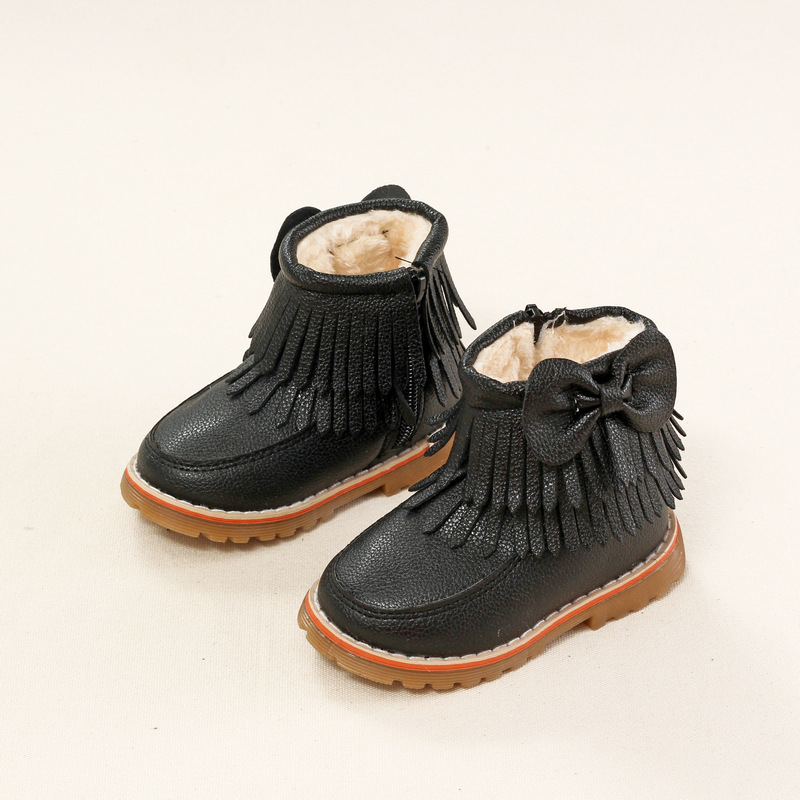 Aliexpress.com : Buy New Kids Fringe Boots Girls Fall Tassel Shoes ...