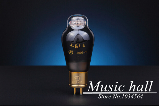 Douk Audio High-end Premium Grade Natural Sound 300B-T Audio Vacuum Tube brand new 1PCS for tube amplifier Free Shipping music hall shuguang natural sound 12ax7 t audio vacuum tube valve with gold pins 1pcs for tube amplifier