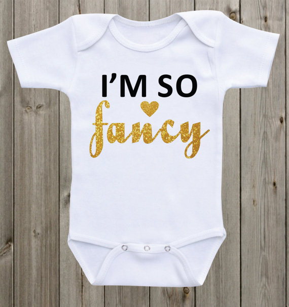 d4010ca77e0 Detail Feedback Questions about customize text I m so fancy Newborn infant  baby bodysuit onepiece romper Outfit Take Home toddler shirt birthday party  gifts ...