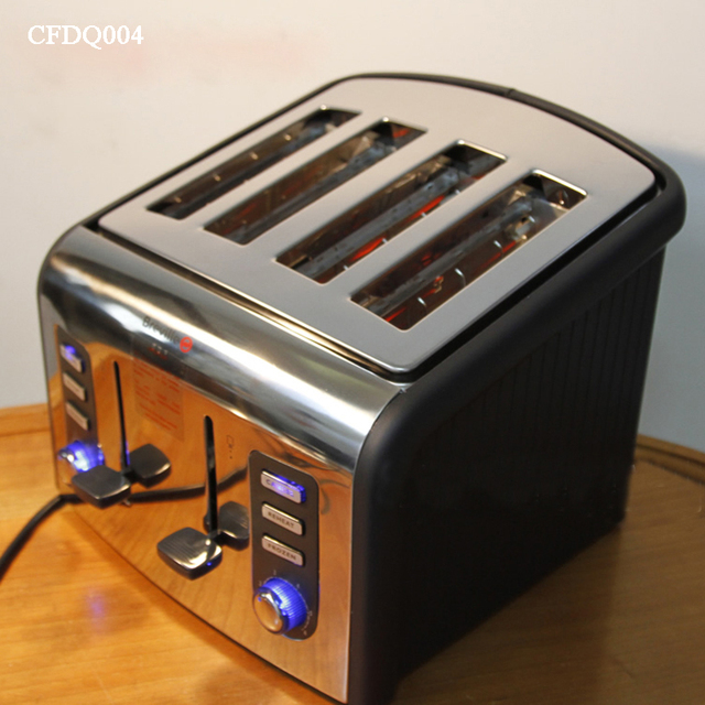 Toaster Home Automatic Breakfast Bread Maker 220V Stainless Steel Bread Baking Machine CFDQ004 1