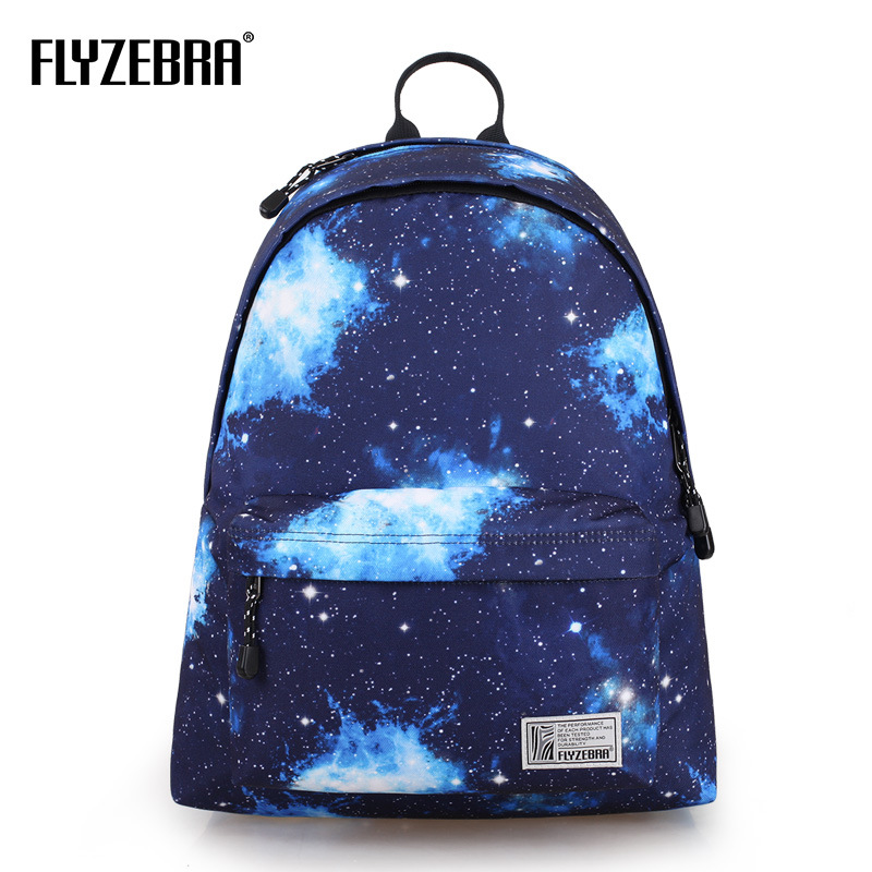 Fashion 3D Sky Printed Pack Fashion Sports Men Large Capacity Travel Pack Computer Pack Printed Casual Edition Women Backpack