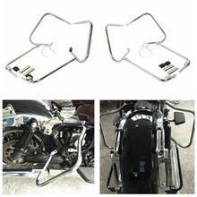 Сума кронштейн гвардии ж/Поддержка крючок для Harley Touring CVO Ultra Classic Electra Glide Road King FLHT FLHR 97 -08
