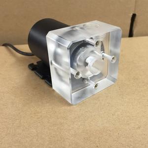 Image 1 - 新しいコンピュータ水クーラー冷却透明/黒カバーホース/硬水ポンプ