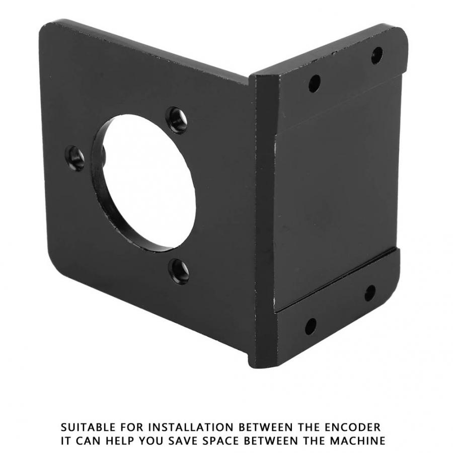 EB005 Aluminium Alloy L Type Holder Encoder Mounting Stand Bracket Accessories in Brackets from Home Improvement