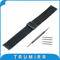 Universal Milanese Watchband 16mm 18mm 20mm 22mm 24mm Mesh Stainless Steel Watch Band Strap Link Bracelet