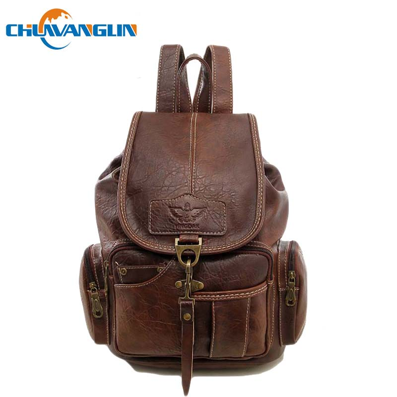 Chuwanglin Fashion college style school bags vintage womens leather backpacks casual waterproof travel bags A091803Chuwanglin Fashion college style school bags vintage womens leather backpacks casual waterproof travel bags A091803