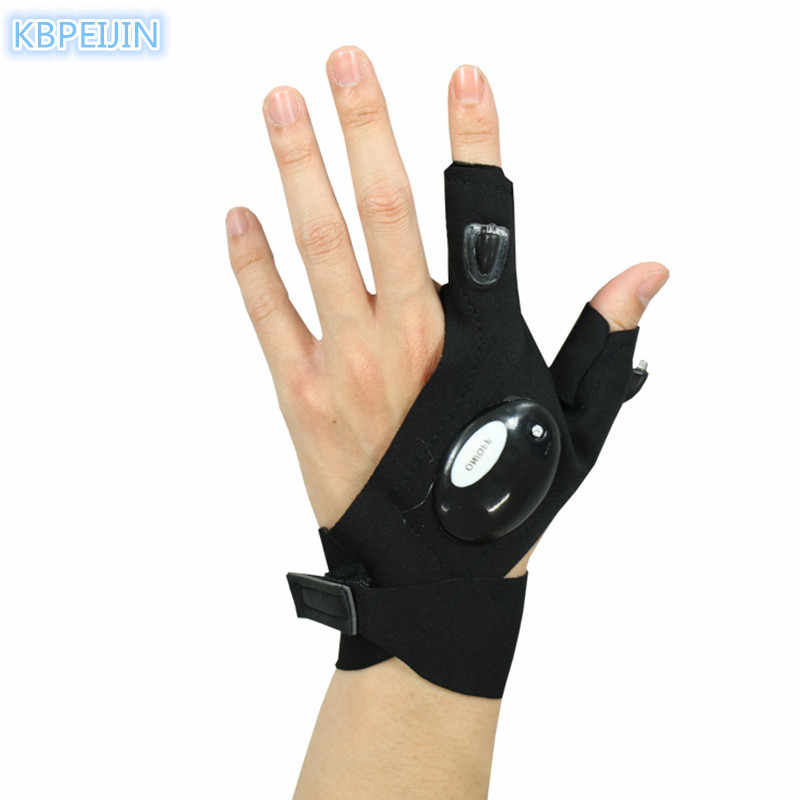 1565bd50ff1083 ... Fingerless Glove LED Flashlight Outdoor Survival Rescue Tool for Toyota  corolla rav4 camry prius hilux avensis ...