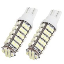 500x T10 1206 68 SMD 194 3020 68 LED W5W Led Bulb LED light Bulbs white Rear Signal Light For Clearance Light Turn Light Yellow  creative led light bulb style keychain yellow white