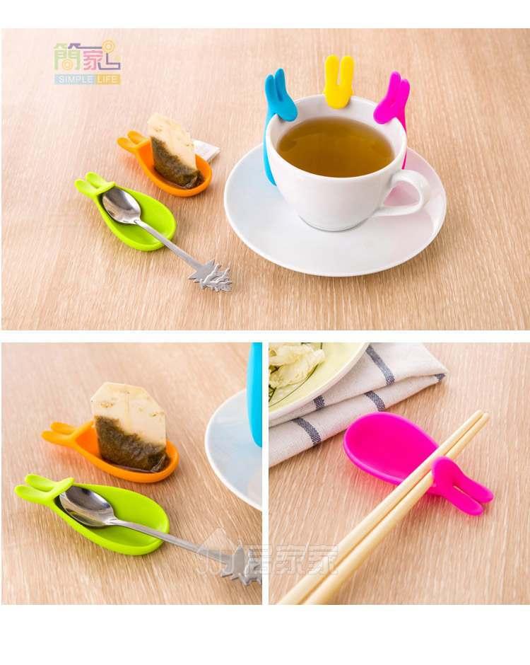 tea bag holder tea time tea steeper tea clip tea infuser with a lampwork glass bead Tea bag clip Making tea butterfly bead