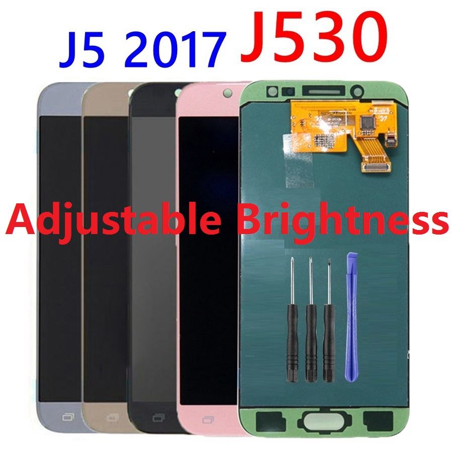 Adjustable LCD Screen Display Touch Digitizer Sensor Assembly For <font><b>Samsung</b></font> Galaxy J5 Pro 2017 <font><b>J530F</b></font> J530FN <font><b>J530F</b></font>/<font><b>DS</b></font> J530G J530M image