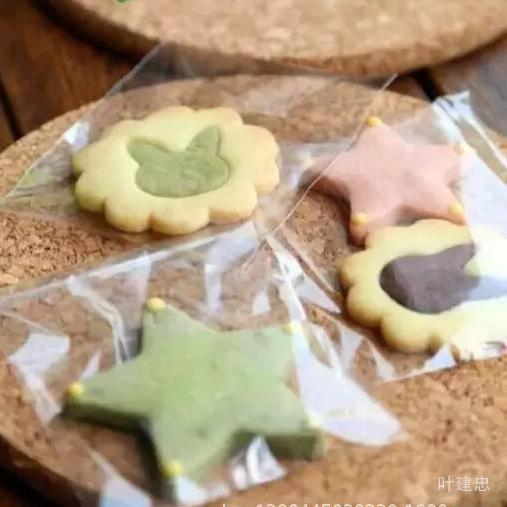 100 шт./лот дешеві ясно мішки для упаковки пластикової печиво печиво упаковка булочки macaron сумка 10 см * 10 см весілля упаковки