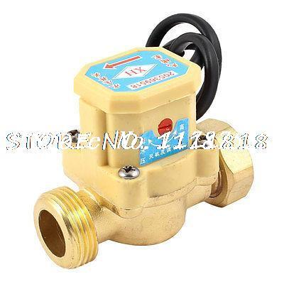 26mm Thread Ports Circulation Pump Water Heater Flow Sensor Switch ksol new style 26mm 3 4 pt thread connector 120w pump water flow sensor switch