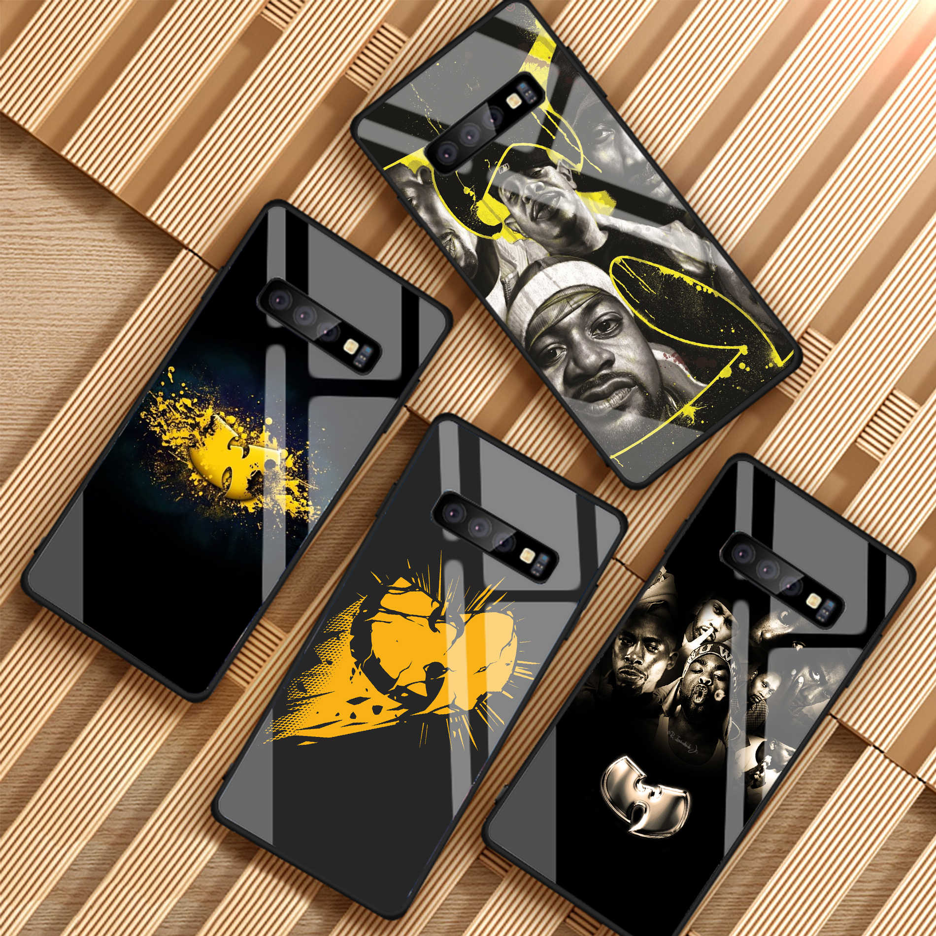 Wu Tang Clan กระจกนิรภัยสำหรับ Samsung Galaxy S8 S9 S10 PLUS A6 A6S A8 A8S J6 J8 2018 NOTE8 9