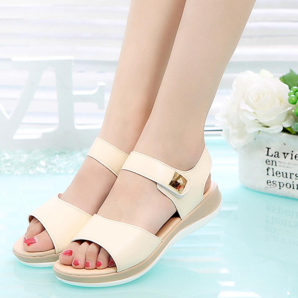 Femme Nœud Papillon Sandales Flats Casual Gladiator Sweet Shoes plus size US 4-14 Hot
