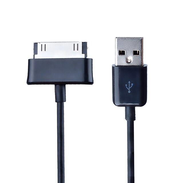 1 M 3 M usb cable de cargador de datos para samsung galaxy tab 2 3 Tablet 10,1 de 7,0 P1000 P1010 P7300 P7310 P7500 P7510