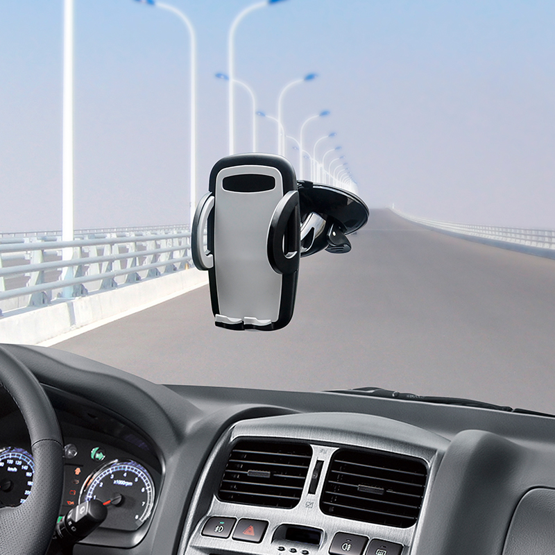 Xnyocn Car Mobile Phone Holder Adjustable Stand for 3.5 to 6.0 Smartphones 360 Rotate for iPhone 6 Plus/5S Samsung S5 S6 Edge