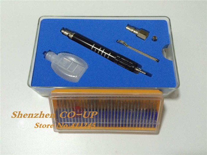 Hight Speed Pencil Air Micro Grinder 65000RPM with 30pcs Diamond Drill Bits sht 265 micro air grinder