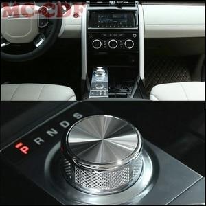 Image 3 - Auto Styling Für Land Rover Discovery 4 Entdeckung Sport LR4 Range Rover Evoque Vogue SV zink legierung Getriebe Shift knopf Kopf 1 teile/satz