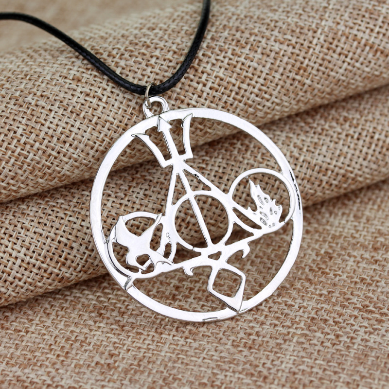 Wholesale The Mortal Instruments City of Bones Necklace Angelic Power Rune Shadowhunter Pendant Men Women Christmas Party Gift