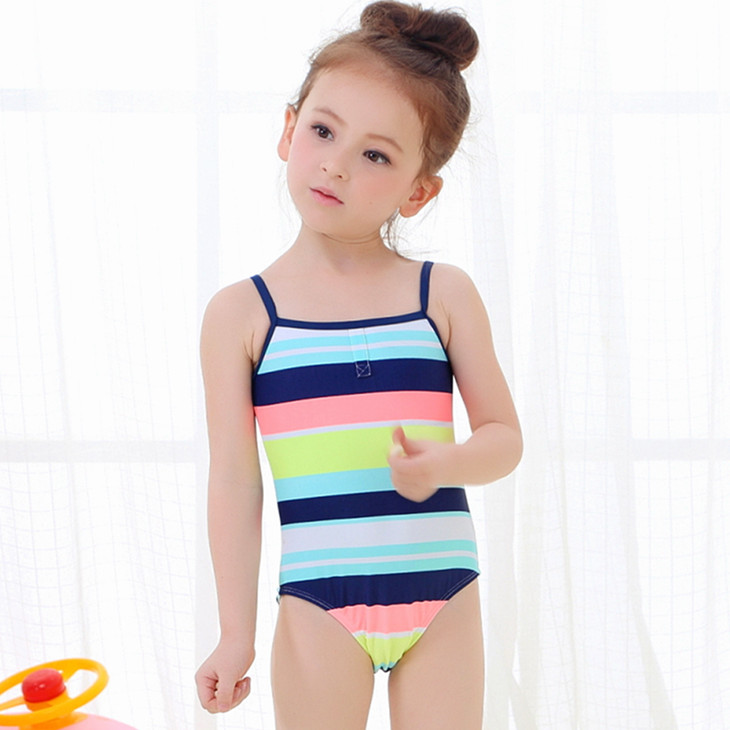 2016 0 8 year anti uv children kid girl's swimming wear ...