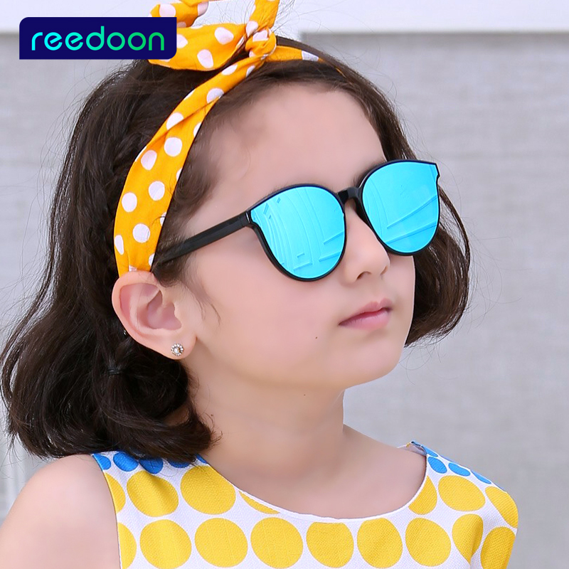 Kids Sunglasses Child Baby Boys Girls Rivet Sun Glasses Vintage UV400 Eyewear