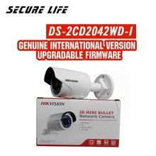 DS-2CD2042WD-I английская версия 4MP ИК Пуля сети Камера, P2P ip-видеонаблюдения Камера POE, Поддержка H.264 +