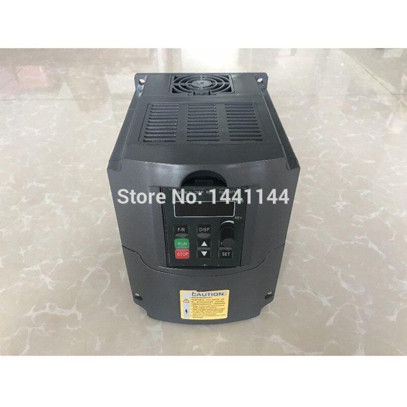 1.5KW/2.2KW/3KW 110 V 220 V 380 V AC convertisseur de fréquence Variable convertisseur VFD convertisseur de vitesse inverseur pour CNC