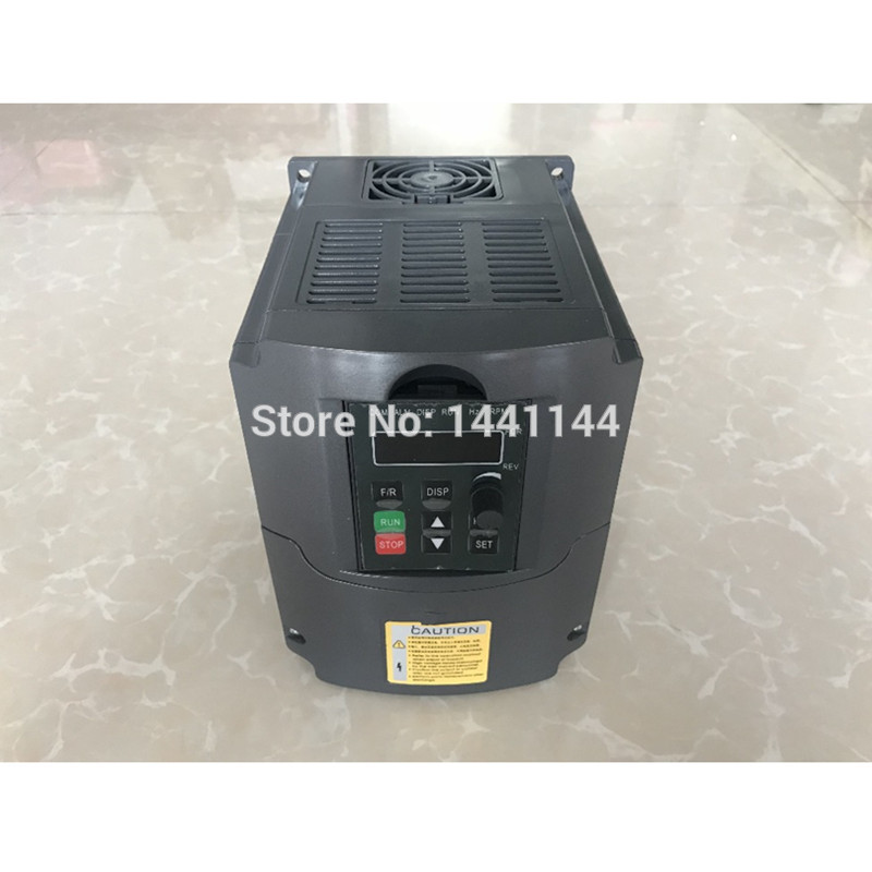 1.5KW/2.2KW/3KW 110V 220V 380V AC Variable Frequency Drive Converter VFD Converter Speed Controller inverter for CNC1.5KW/2.2KW/3KW 110V 220V 380V AC Variable Frequency Drive Converter VFD Converter Speed Controller inverter for CNC