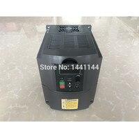 1.5KW/2.2KW/3KW 110V 220V 380V AC Variable Frequency Drive Converter VFD Converter Speed Controller inverter for CNC