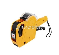 Yellow Red Blue Single Row Supper Market Shop 8 Digits Price Labeller Label Tag Gun