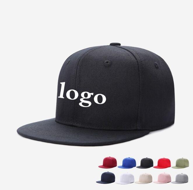 521d283a05e New Plain Customized LOGO Baseball Caps Adjustable Men Women Hip Hop  Snapback Hats with Printed Logo