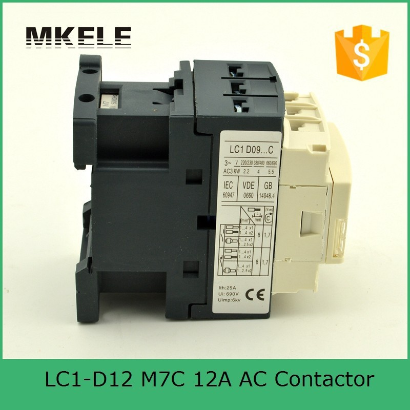 US $5 25 |LC1D12M7 AC Contactor 12A Telemecanique Magnetic Electrical  Contactor 24V 36V 110V 220V 380V Coil Voltage-in Contactors from Home