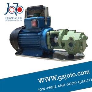 Image 4 - Bomba de aceite pesada térmica de engranaje eléctrico portátil de hierro fundido WCB 100