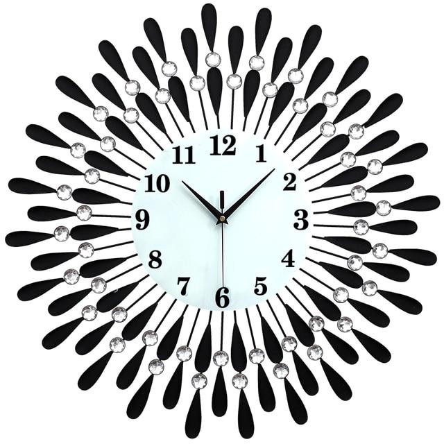 20 cal moda europa du y zegar cienny salonu i sypialni - Relojes de pared modernos para salon ...